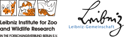 IZW Logo + Leibniz-Logo